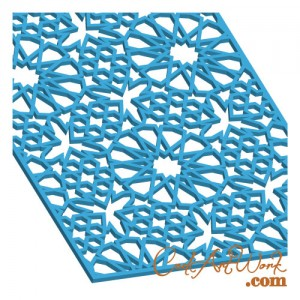 Arabesque Screen