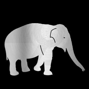 Elephant Dxf Clip Art
