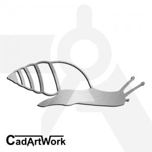 Snail 2 Dxf Clip Art