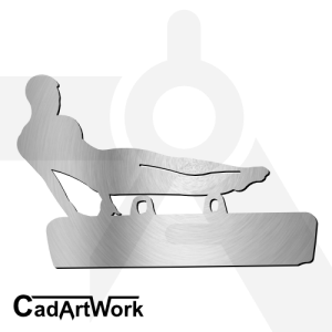 gymnastic dxf artwork