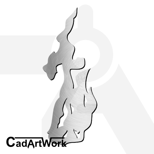 Flame dxf artwork