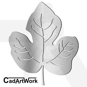 Fig Leaf dxf artwork