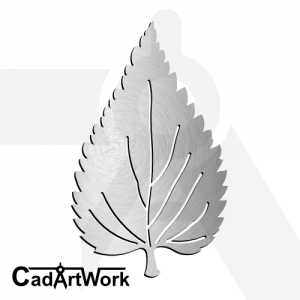 Leaf 4 dxf artwork