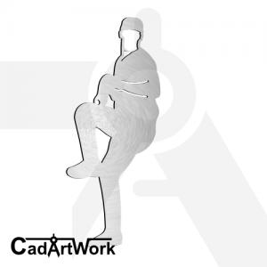 baseball dxf laser cut clip art - cadartwork.com