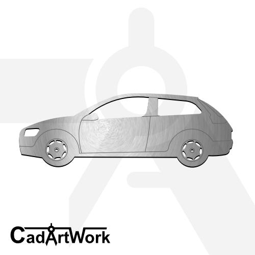Volvo C30 laser cut file   cadartwork.com