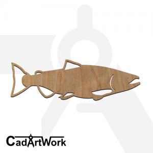 fish 22 laser cut file - cadartwork