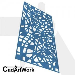 tangled 2 decorative screen design