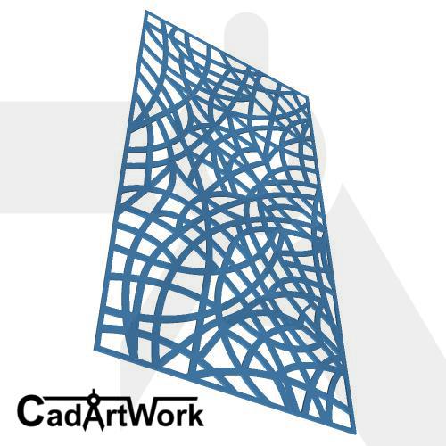 tangled 1 decorative screen design