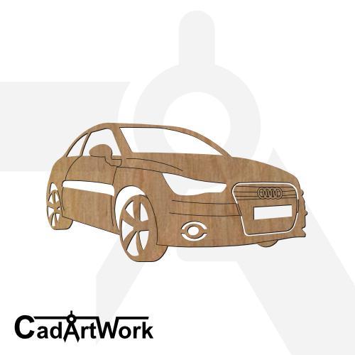 Audi dxf cad artwork - cadartwork.com