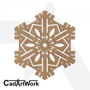 Snowflake 2 dxf pattern