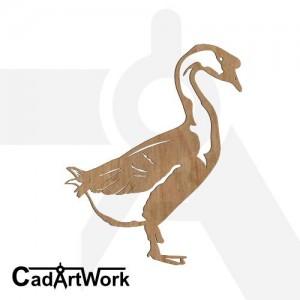 Goose dxf art