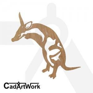 Aadvark dxf clip art