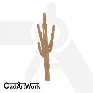 Cactus dxf artwork