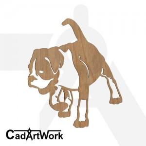 Boxer dxf artwork