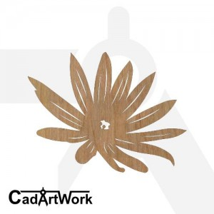 Flower 5 dxf artwork