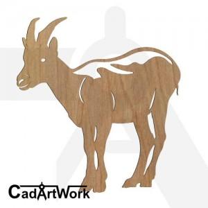 goat 5 dxf art