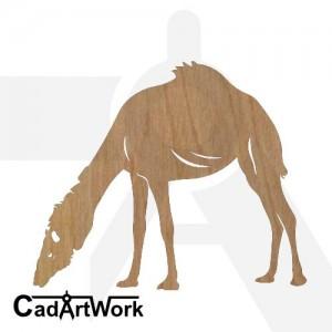 Camel 8 dxf art