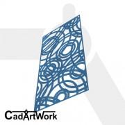 ripple decorative screen design