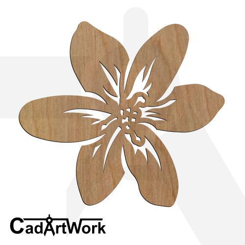 flower 7 laser cut design