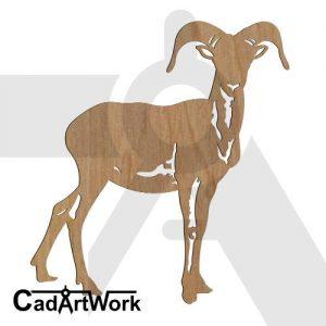 mouflon dxf art