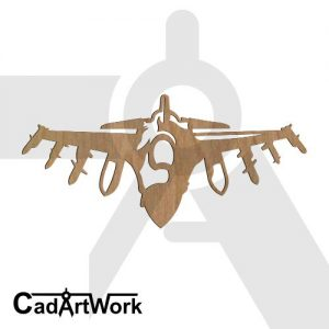jet-fighter dxf art