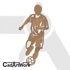 soccer dxf art