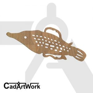fish dxf art