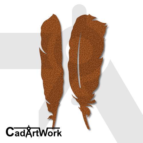 Feather 1 lasercut file