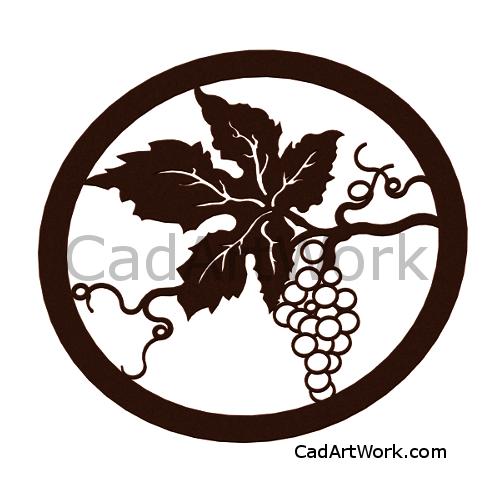 grape dxf