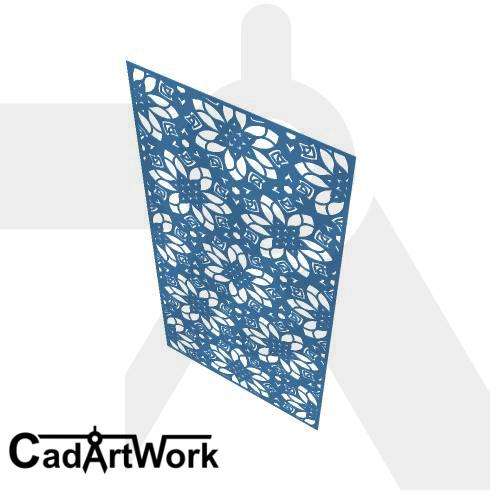CM-dxf-005-Flower cut