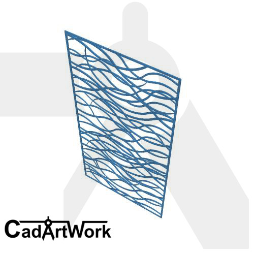 Rope Dxf Screen Design
