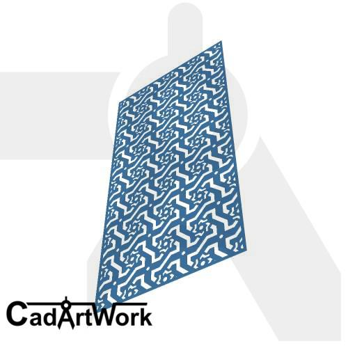 Octagonal Dxf Screen Design