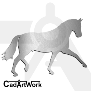 Horse Dxf Clip Art