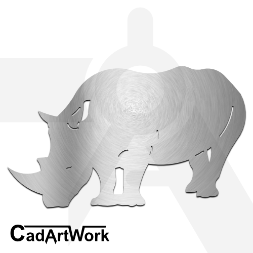 Rhinoceros Dxf Clip Art