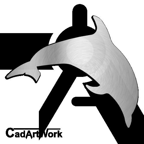 Dolphin Dxf Clip Art