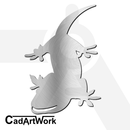 Gecko Dxf Clip Art