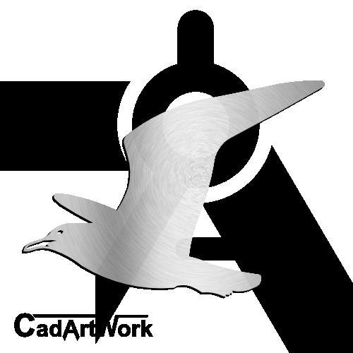 Seagull dxf clip art