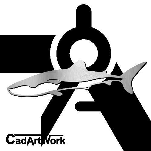 Shark dxf clip art