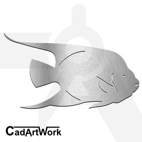 Fish dxf artwork