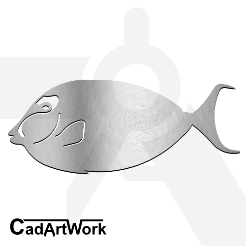Fish 02 dxf artwork