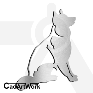 dog dxf artwork