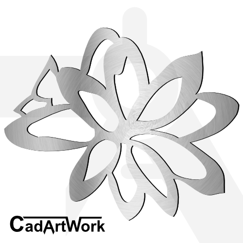 Flower dxf artwork