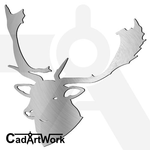 Deer dxf artwork