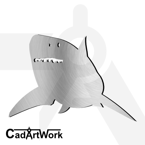 shark dxf artwork