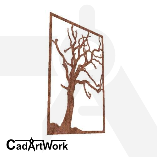 Dead tree wall art