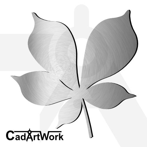 Leaf dxf artwork
