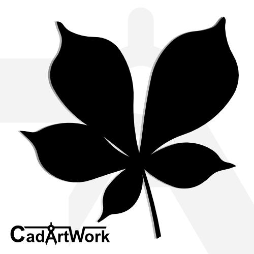 Leaf dxf artwork