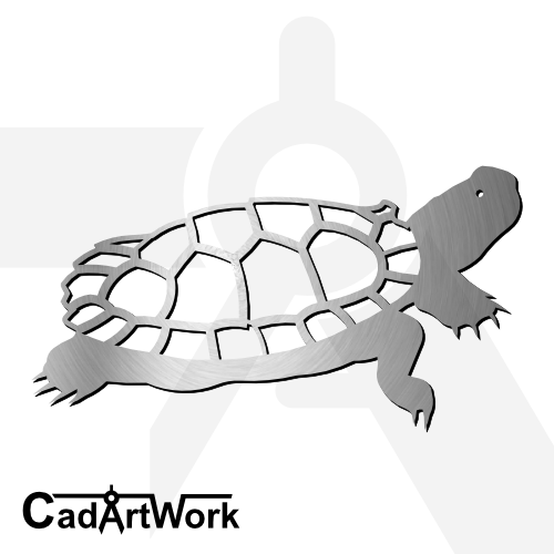 Turtle 2 dxf artwork