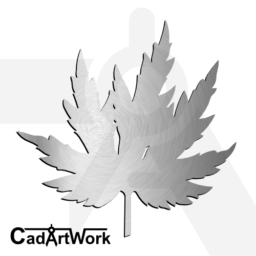 Leaf 3 dxf artwork