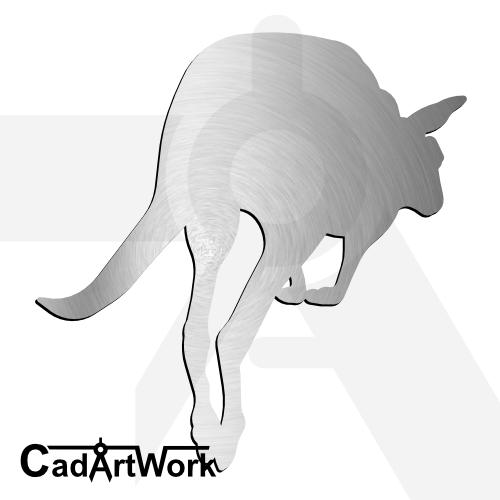 Kangaroo dxf artwork